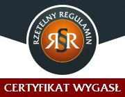 Rzetelny regulamin - certyfikat dla sklepu www.napedy.net
