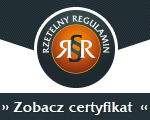 Rzetelny Regulamin - certyfikat